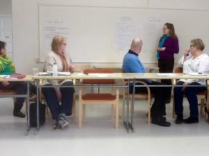 Vaasa-opiston vuotuista suunnittelupäivää vietettiin Ikolan koululla.