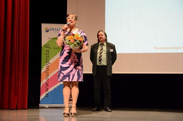 Kansalaisopistojen liiton puheenjohtajaksi valittiin Vaasa-opiston johtava rehtori Sannasirkku Autio.
